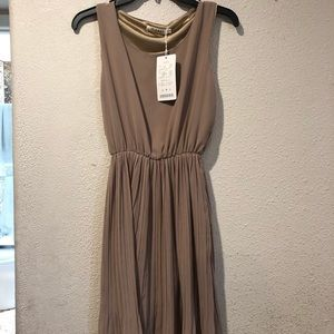 Dresses & Skirts - Tan Tank Dress